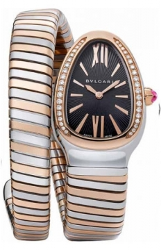 Bulgari Serpenti Tubogas 35mm Ladies watch, model number - sp35bspgd.1t, discount price of £7,650.00 from The Watch Source