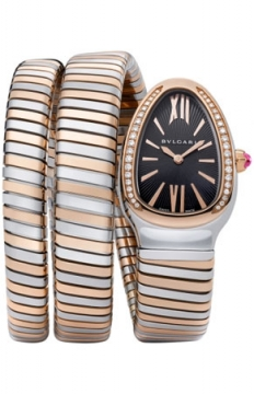 Bulgari Serpenti Tubogas 35mm Ladies watch, model number - sp35bspgd.2t, discount price of £10,443.00 from The Watch Source