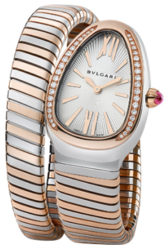 Bulgari Serpenti Tubogas 35mm Ladies watch, model number - sp35c6spgd.1t, discount price of £7,650.00 from The Watch Source