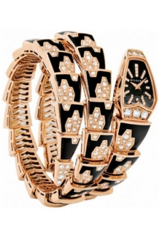 Bulgari Serpenti Jewelery Scaglie 26mm  Ladies watch, model number - spp26bgd1gbld1.2t, discount price of £50,065.00 from The Watch Source