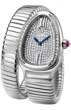 Bulgari Serpenti Tubogas 35mm Ladies watch, model number - spw35d2gdg.1t, discount price of £23,630.00 from The Watch Source