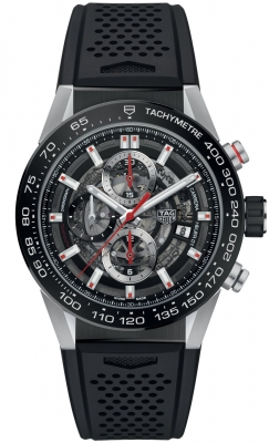 Buy this new Tag Heuer Carrera Caliber Heuer 01 Skeleton 43mm car201v.ft6046 mens watch for the discount price of £3,655.00. UK Retailer.