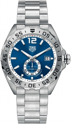 Buy this new Tag Heuer Formula 1 Automatic 43mm waz2014.ba0842 mens watch for the discount price of £1,190.00. UK Retailer.