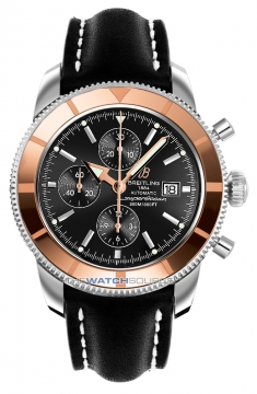 Breitling Superocean Heritage Chronograph Mens watch, model number - u1332012/b908-1ld, discount price of £4,810.00 from The Watch Source