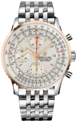 Buy this new Breitling Navitimer 1 Chronograph 41 u13324211g1a1 mens watch for the discount price of £5,200.00. UK Retailer.