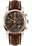Breitling Transocean Chronograph 43mm ub015212/q594-2ct watch