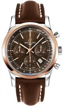 Breitling Transocean Chronograph 43mm Mens watch, model number - ub015212/q594-2LT, discount price of £5,630.00 from The Watch Source