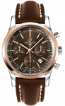 Breitling Transocean Chronograph 43mm ub015212/q594-2LT watch