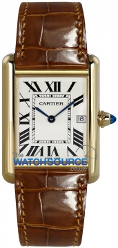 Cartier Tank Louis Cartier Mens watch, model number - w1529756, discount price of £6,480.00 from The Watch Source