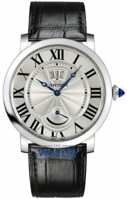 Cartier Rotonde de Cartier Calendar Power Reserve Mens watch, model number - w1556369, discount price of £5,896.00 from The Watch Source