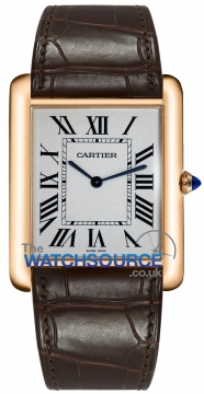 Cartier Tank Louis Cartier Mens watch, model number - w1560017, discount price of £9,605.00 from The Watch Source
