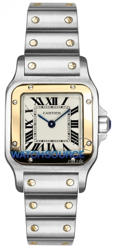 Cartier Santos Galbee Quartz Ladies watch, model number - w20012c4, discount price of £4,752.00 from The Watch Source