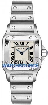 Buy this new Cartier Santos Galbee Quartz w20056d6 ladies watch for the discount price of £3,600.00. UK Retailer.