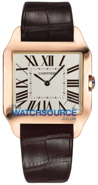 Cartier Santos Dumont Mens watch, model number - w2006951, discount price of £12,232.00 from The Watch Source