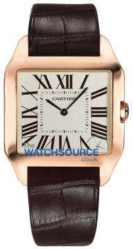 Cartier Santos Dumont Ladies watch, model number - w2009251, discount price of £7,770.00 from The Watch Source