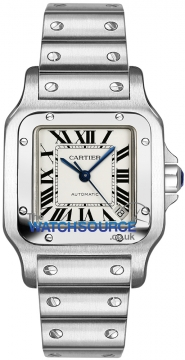 Cartier Santos Galbee Automatic Midsize watch, model number - w20098d6, discount price of £3,950.00 from The Watch Source