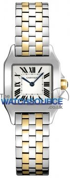 Cartier Santos Demoiselle - Small Ladies watch, model number - w25066z6, discount price of £4,335.00 from The Watch Source