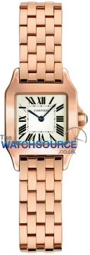 Cartier Santos Demoiselle - Mini Ladies watch, model number - w25077x9, discount price of £10,880.00 from The Watch Source