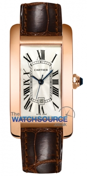 Cartier Tank Americaine Medium Midsize watch, model number - w2620030, discount price of £9,990.00 from The Watch Source