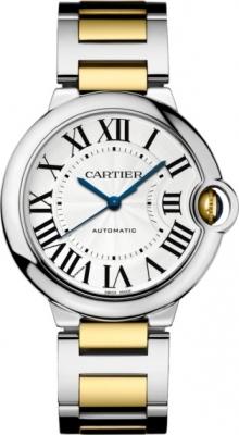 Cartier Ballon Bleu 36mm w2bb0012 watch