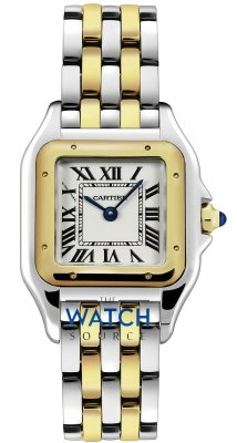 Buy this new Cartier Panthere de Cartier Medium w2pn0007 ladies watch for the discount price of £6,255.00. UK Retailer.