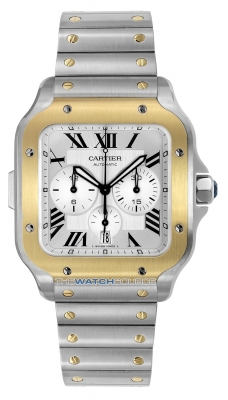 Cartier Santos De Cartier Chronograph w2sa0008 watch