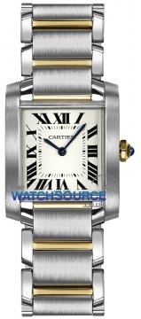 Cartier Tank Francaise Medium Midsize watch, model number - w2ta0003, discount price of £4,343.00 from The Watch Source