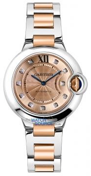 Buy this new Cartier Ballon Bleu 33mm w3bb0002 ladies watch for the discount price of £8,055.00. UK Retailer.
