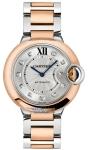 Cartier Ballon Bleu 36mm w3bb0013 watch