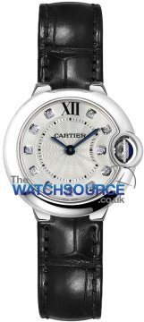 Buy this new Cartier Ballon Bleu 28mm w4bb0008 ladies watch for the discount price of £4,410.00. UK Retailer.