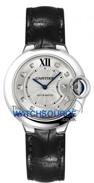 Cartier Ballon Bleu 33mm w4bb0009 watch