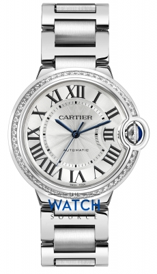 Cartier Ballon Bleu 36mm w4bb0017 watch