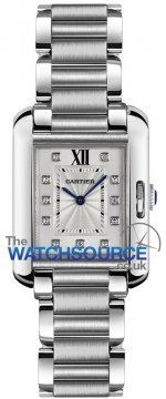 Buy this new Cartier Tank Anglaise Small w4ta0003 ladies watch for the discount price of £4,775.00. UK Retailer.
