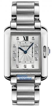 Buy this new Cartier Tank Anglaise Medium Quartz w4ta0004 ladies watch for the discount price of £5,445.00. UK Retailer.