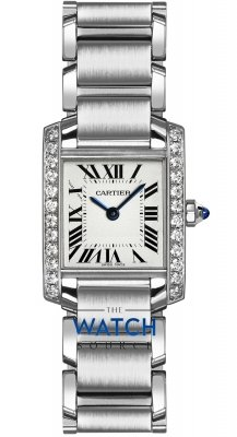 Buy this new Cartier Tank Francaise Small w4ta0008 ladies watch for the discount price of £5,490.00. UK Retailer.