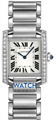 Buy this new Cartier Tank Francaise Medium w4ta0009 midsize watch for the discount price of £6,255.00. UK Retailer.