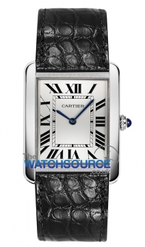 Cartier Tank Solo Quartz Midsize watch, model number - w5200003, discount price of £1,899.00 from The Watch Source