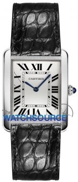 Cartier Tank Solo Quartz Ladies watch, model number - w5200005, discount price of £1,728.00 from The Watch Source
