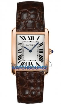 Cartier Tank Solo Quartz Ladies watch, model number - w5200024, discount price of £3,212.00 from The Watch Source