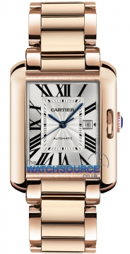 Cartier Tank Anglaise Medium Automatic Ladies watch, model number - w5310003, discount price of £23,760.00 from The Watch Source