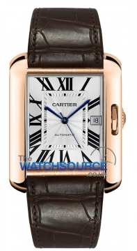 Cartier Tank Anglaise Large Mens watch, model number - w5310004, discount price of £15,928.00 from The Watch Source