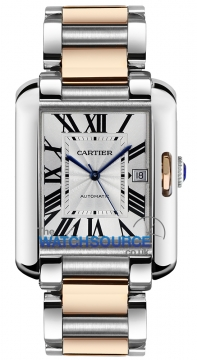 Cartier Tank Anglaise Large Mens watch, model number - w5310006, discount price of £6,840.00 from The Watch Source