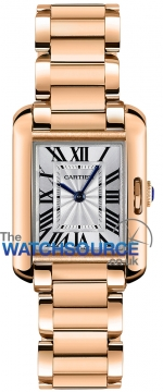 Cartier Tank Anglaise Small Ladies watch, model number - w5310013, discount price of £14,620.00 from The Watch Source