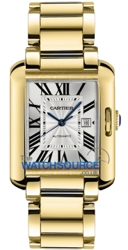 Cartier Tank Anglaise Medium Automatic Ladies watch, model number - w5310015, discount price of £23,760.00 from The Watch Source
