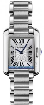 Buy this new Cartier Tank Anglaise Small w5310022 ladies watch for the discount price of £3,780.00. UK Retailer.