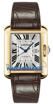 Cartier Tank Anglaise Medium Automatic Ladies watch, model number - w5310030, discount price of £10,440.00 from The Watch Source