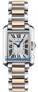 Buy this new Cartier Tank Anglaise Small w5310036 ladies watch for the discount price of £5,850.00. UK Retailer.