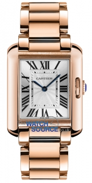 Buy this new Cartier Tank Anglaise Medium Quartz w5310041 ladies watch for the discount price of £21,150.00. UK Retailer.