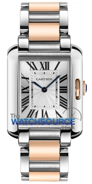 Buy this new Cartier Tank Anglaise Medium Quartz w5310043 ladies watch for the discount price of £6,345.00. UK Retailer.