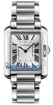 Buy this new Cartier Tank Anglaise Medium Quartz w5310044 ladies watch for the discount price of £4,185.00. UK Retailer.